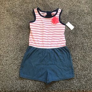 NWT TODDLER GIRL ROMPER SIZE 5T